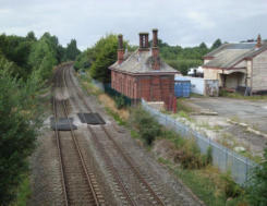 Looking westwards towards Waverton Station (On the present Crewe to Chester Line)
