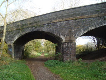 Viaduct at Haughton Station
