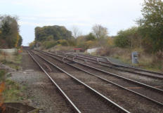 The track joins the Shrewsbury to Chester Line