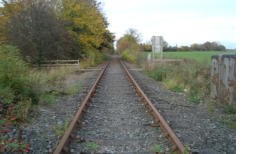 The line progress North towards Park Hall Halt