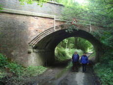 A surviving rail viaduct near Pontesbury